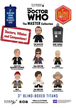 Titan Merchandise Doctor Who Master Titans Figure - Blind Box