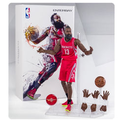 Enterbay Houston Rockets James Harden Motion Masterpiece Figure