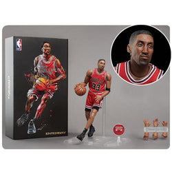 NBA Collection Chicago Bulls Scottie Pippen Motion Masterpiece Figure