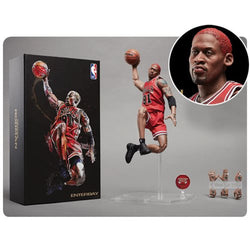 NBA Collection Chicago Bulls Dennis Rodman Motion Masterpiece Figure