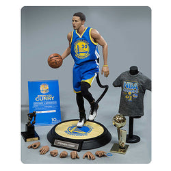 Enterbay NBA Golden State Warriors Stephen Curry Real Masterpiece Figure