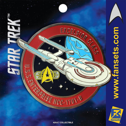Fansets Star Trek USS Enterprise 1701-B Enamel Pin