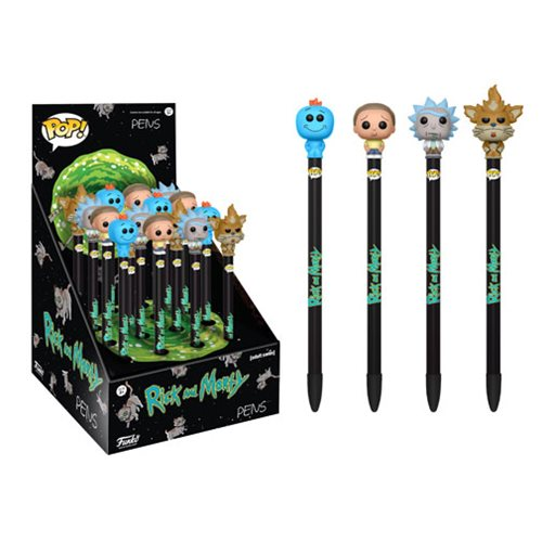 Funko Pop Pens Rick and Morty Series 1