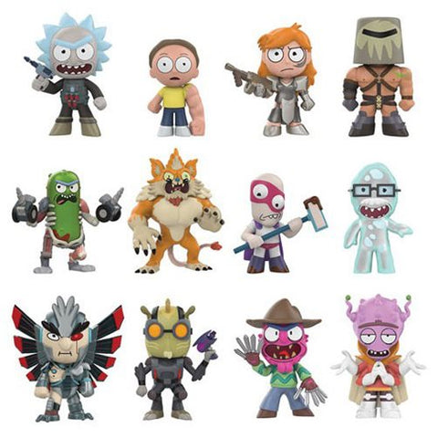 Funko Mystery Minis Rick and Morty Series 2 - Blind Box
