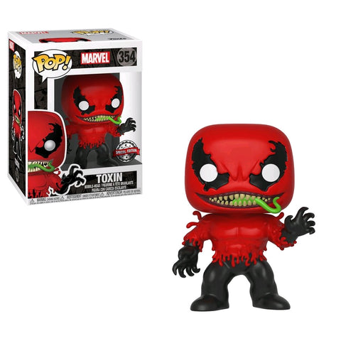 Funko Pop Marvel Spider-Man - Toxin