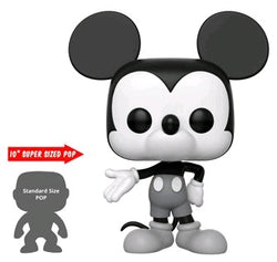 Funko Pop Disney 90th Anniversary Mickey Mouse (Black and White) 10""