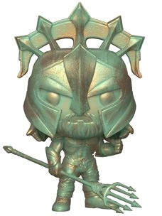 Funko Pop DC Aquaman - Arthur Curry Gladiator (Patina)