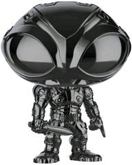 Funko Pop DC Aquaman - Black Manta (Black Chrome)