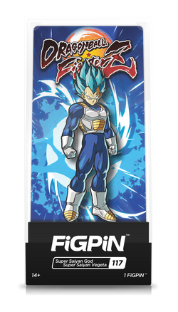 FiGPiN Dragon Ball FighterZ Super Saiyan God Super Saiyan Vegeta