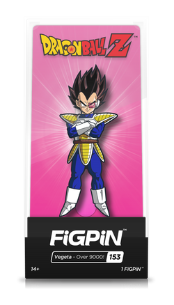 "FiGPiN Dragon Ball Z - Vegeta ""Over 9000"""