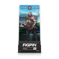 FiGPiN God of War Kratos Pin