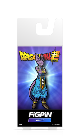 FiGPiN Mini Dragon Ball Super - Beerus Pin