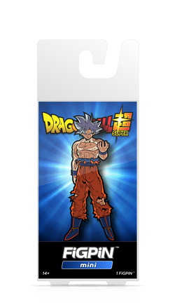 FiGPiN Mini Dragon Ball Super - Ultra Instinct Goku Pin