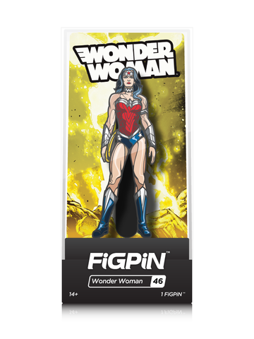 FiGPiN DC Wonder Woman (Justice League)
