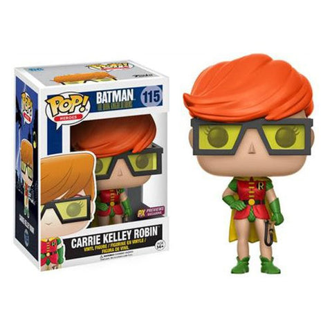 Funko Pop DC Carrie Kelley Robin - Nerdy Collectibles