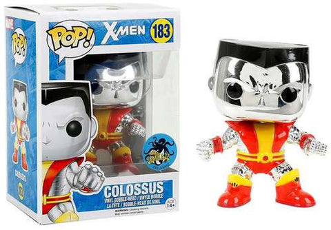 Funko Pop Marvel Colossus (Chrome) - Nerdy Collectibles