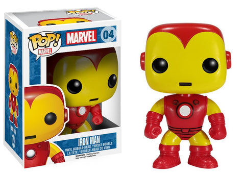 Funko Pop Marvel Iron Man - Nerdy Collectibles