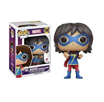 Funko Pop Marvel Ms. Marvel (Kamala Khan) - Nerdy Collectibles