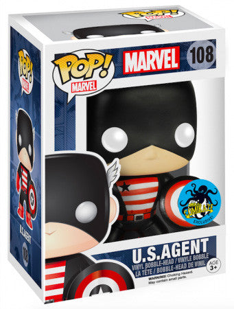 Funko Pop Marvel U.S. Agent - Nerdy Collectibles