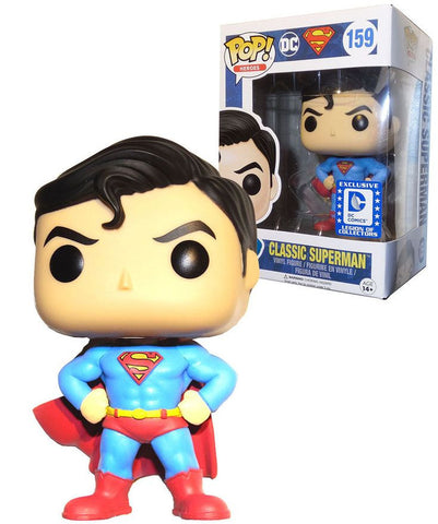 Funko Pop DC Classic Superman - Nerdy Collectibles