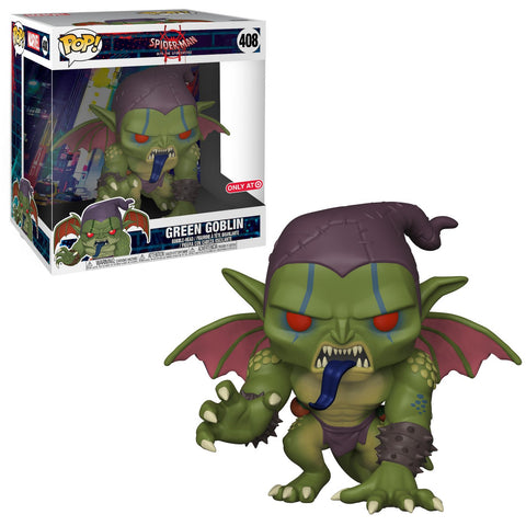 "Funko Pop Marvel Spider-Man into the Spider-Verse - 10"" Green Goblin"