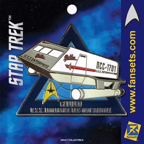 Fansets Star Trek Galileo Shuttle Enamel Pin