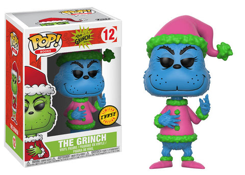 Funko Pop Books Dr. Seuss Christmas Grinch Chase