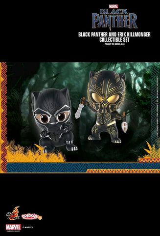 Marvel Black Panther - Black Panther & Killmonger Cosbaby Set