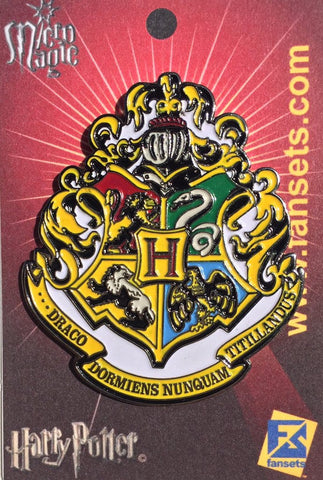 Fansets Harry Potter Hogwarts School Crest Enamel Pin