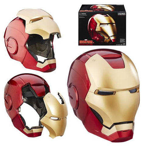 Marvel Legends Avengers Iron Man Electronic Helmet