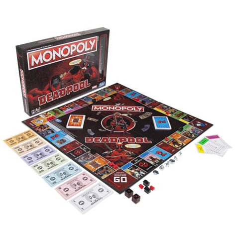 Monopoly Marvel Deadpool Edition Game