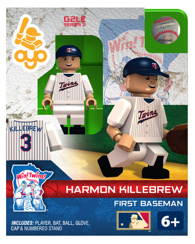 MLB Minnesota Twins Harmon Killebrew Mini Figure