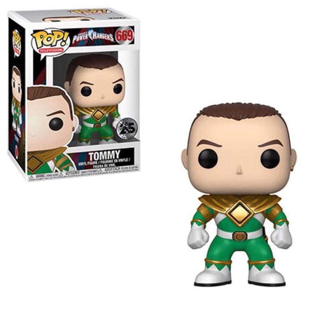 Funko Pop Television Power Rangers - Tommy (Green)