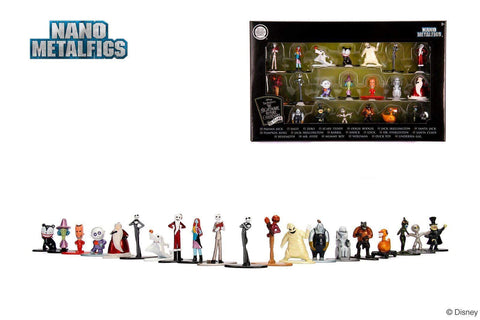 Disney The Nightmare Before Christmas Nano Metalfigs 20-Pack
