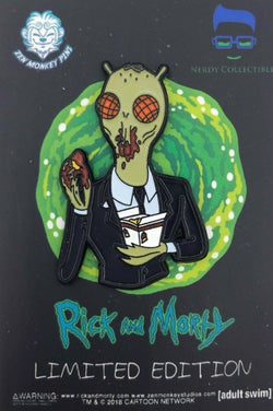 Rick and Morty Cornvelious Daniel with Mulan Sauce Pin