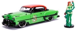 DC Bombshells Poison Ivy 1953 Chevy Bel Air 1:24 Scale Hollywood Rides Diecast Vehicle