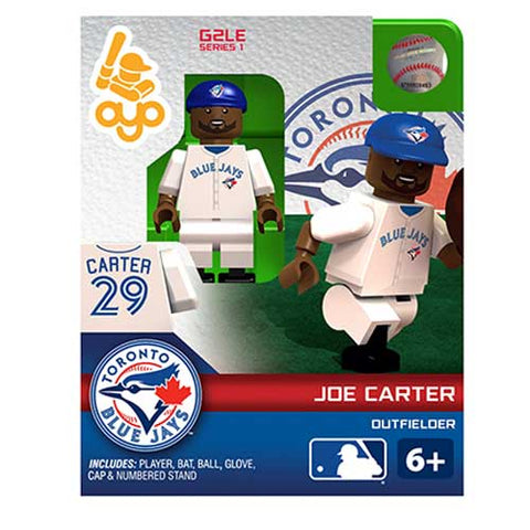 MLB Toronto Blue Jays Joe Carter Mini Figure