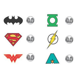 DC Justice League Lapel Pin Set