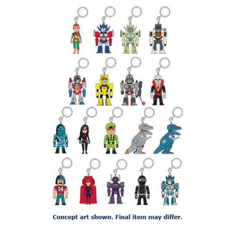 Kidrobot Transformers vs. G.I. Joe Keychain - Blind Box