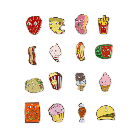 Kidrobot Yummy World Enamel Pins - Blind Box