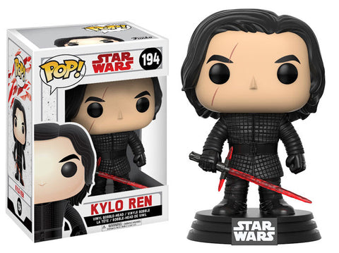 Funko Pop Star Wars The Last Jedi Kylo Ren