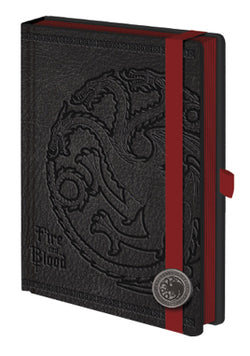 Game of Thrones House Targaryen Premium Journal