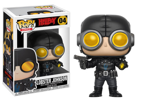 Funko Pop Comics Hellboy Lobster Johnson