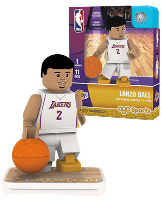 Los Angeles Lakers Lonzo Ball Mini Figure