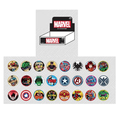 Loungefly Marvel Button Series 1 - Blind Bag