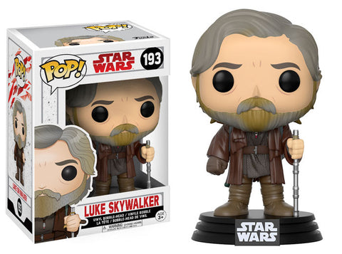 Funko Pop Star Wars The Last Jedi Luke Skywalker
