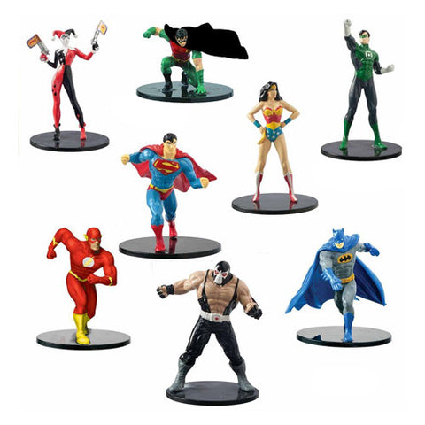DC Comics Action Figure 8-Pack