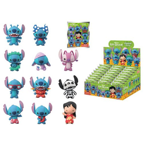 Lilo and Stitch Series 1 3D Figural Keychain - Blind Bag