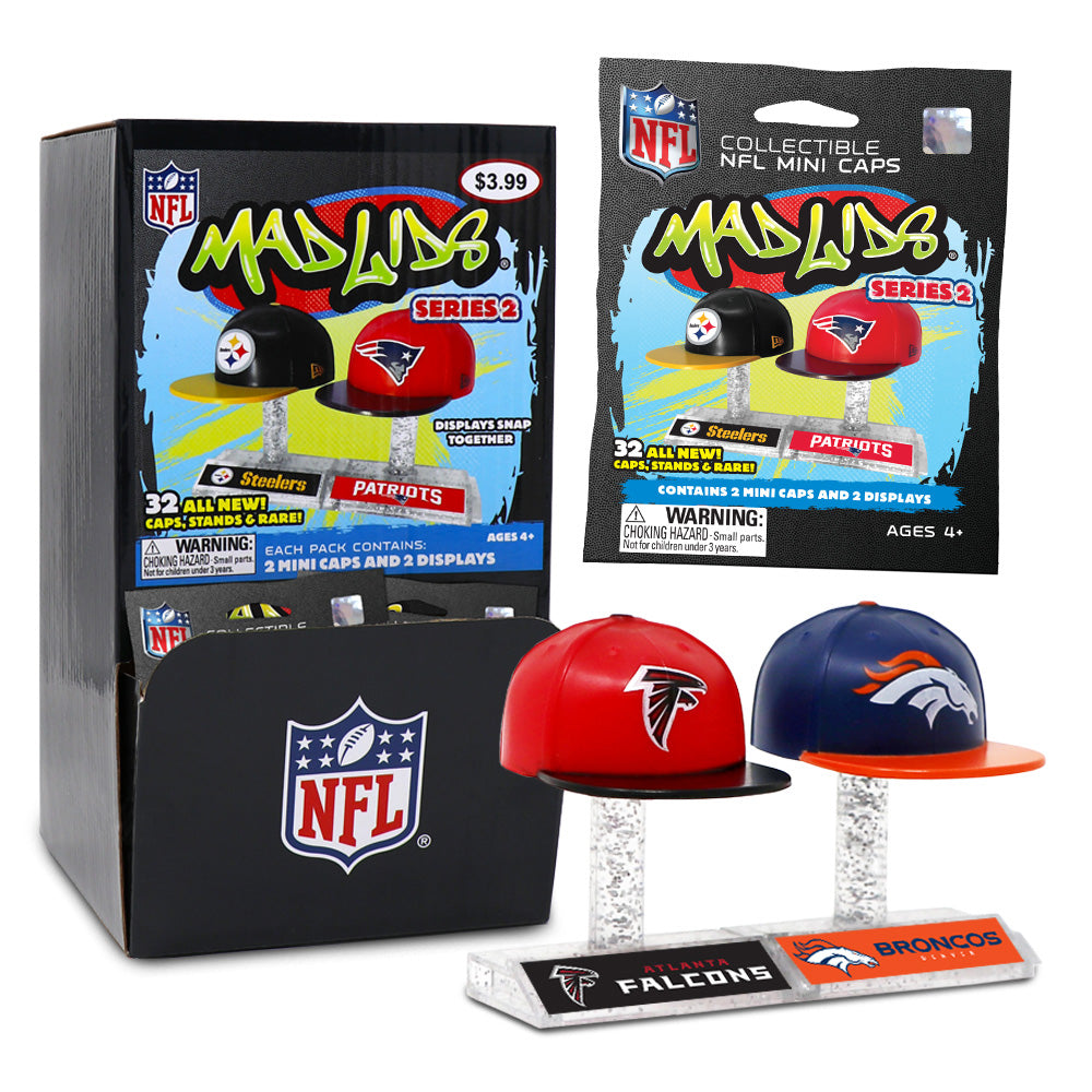 48773501d8e NFL Mad Lids Series 2 - Case of 24 – Nerdy Collectibles