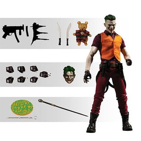 Mezco Toyz DC Comics The Joker Clown Prince of Crime One:12 Collective Action Figure